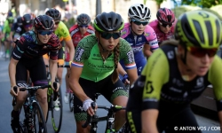 Legazpi - Basque Country - wielrennen - cycling - radsport - cyclisme - Koster Anouska (Netherlands / Waowdeals Pro Cycling) pictured during stage 1 of the Emakumeen Bira 2018 from Legazpi to Legazpi - women - photo Anton Vos/Cor Vos © 2018